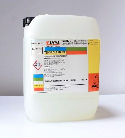 TENSA CLEAN DES : Reinigingsmiddel Met Desinfecterende Werking